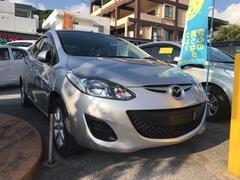 沖縄の中古車 マツダ デミオ 車両価格 59万円 リ済別 平成23年 3.4万K シルバー