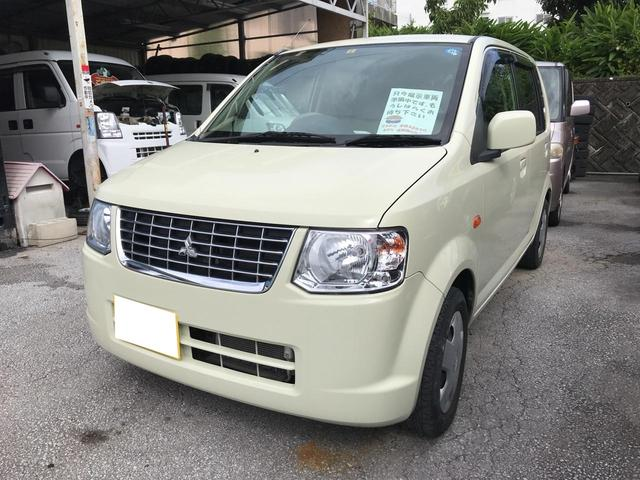 沖縄の中古車 三菱 eKワゴン 車両価格 44万円 リ済込 平成23年 3.6万km ペールベージュソリッド