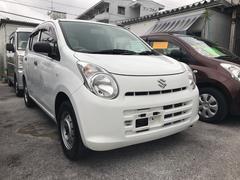 沖縄の中古車 スズキ アルト 車両価格 19万円 リ済込 平成25年 11.7万K ホワイト
