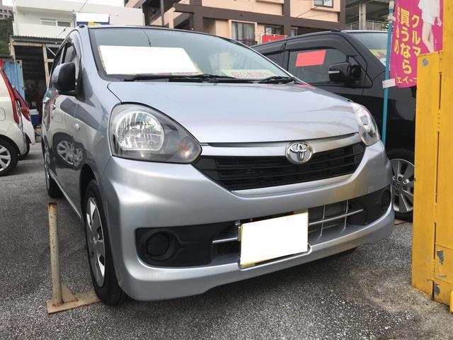 沖縄の中古車 トヨタ ピクシスエポック 車両価格 64万円 リ済込 平成26年 1.0万km シルバー