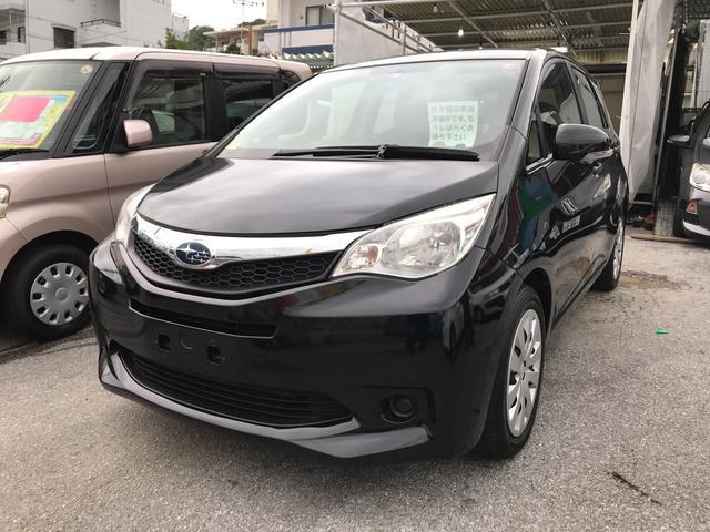 沖縄の中古車 スバル トレジア 車両価格 63万円 リ済込 平成25年 7.6万km ブラック