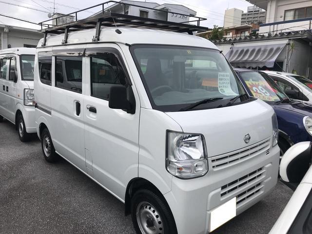 沖縄の中古車 日産 NV100クリッパーバン 車両価格 69万円 リ済込 2015(平成27)年 5.3万km ホワイト