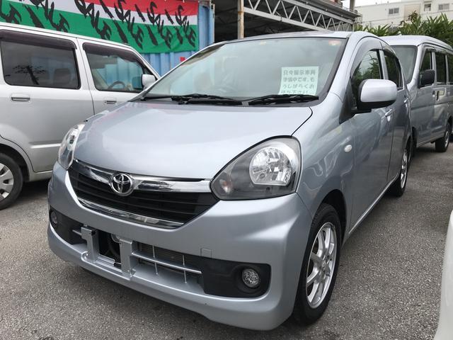 沖縄の中古車 トヨタ ピクシスエポック 車両価格 55万円 リ済込 平成27年 4.7万km シルバー