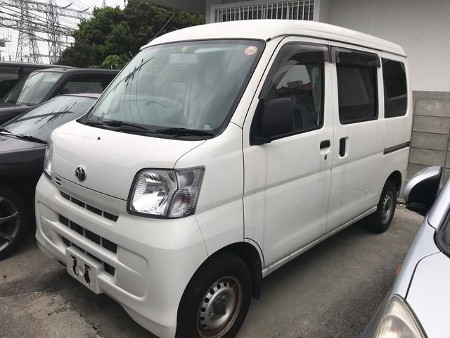 沖縄の中古車 トヨタ ピクシスバン 車両価格 55万円 リ済込 2013(平成25)年 6.0万km ホワイト
