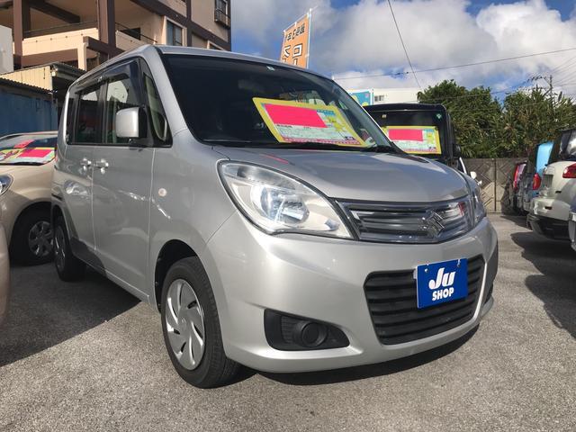 沖縄の中古車 スズキ ソリオ 車両価格 72万円 リ済込 2015(平成27)年 2.6万km シルバー