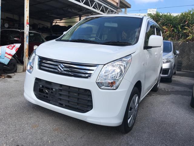 沖縄の中古車 スズキ ワゴンR 車両価格 55万円 リ済込 2014(平成26)年 3.0万km ホワイト
