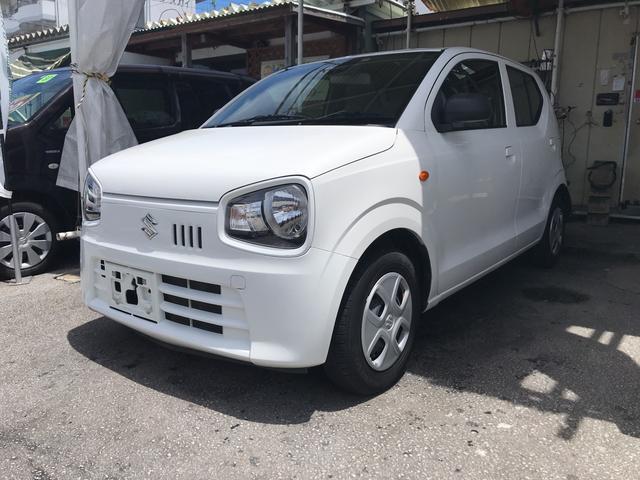 沖縄の中古車 スズキ アルト 車両価格 55万円 リ済込 2015(平成27)年 4.1万km ホワイト