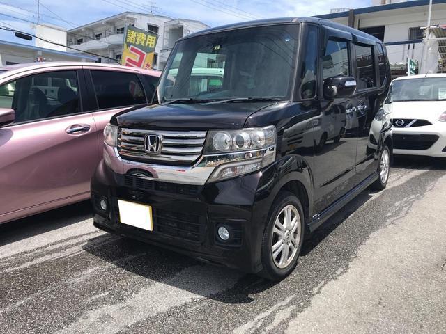 沖縄県の中古車ならN-BOXカスタム G・Lパッケージ