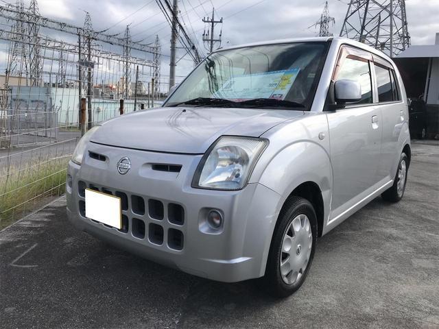 沖縄の中古車 日産 ピノ 車両価格 10万円 リ済込 2009(平成21)年 11.9万km シルバー
