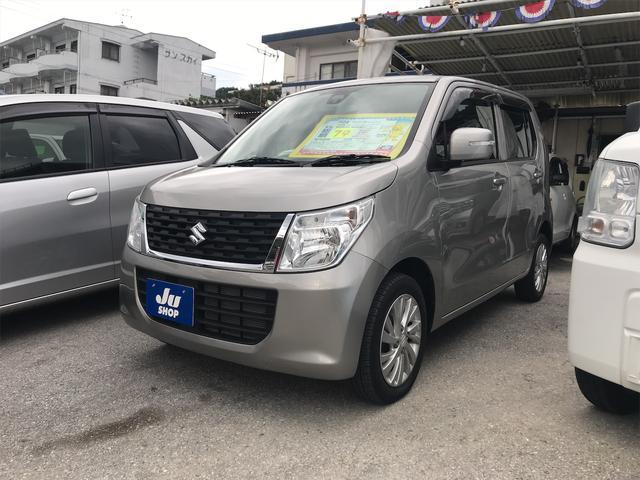 沖縄県中頭郡西原町の中古車ならワゴンR FXリミテッド CD スマートキー アイドリングストップ シートヒーター スマートキー