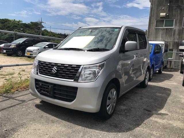 沖縄の中古車 スズキ ワゴンR 車両価格 65万円 リ済込 2016(平成28)年 6.0万km シルキーシルバーメタリック
