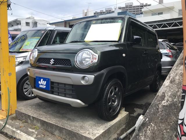 沖縄県の中古車ならハスラー A パワーウィンドウ Wエアバック ナビTV フルフラット 衝突安全ボディ マニュアルエアコン 記録簿