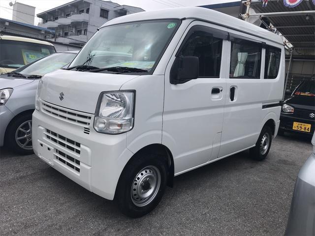 沖縄県の中古車ならエブリイ PA ハイルーフ AM/FMラジオ 両側パスライドドア エアコン