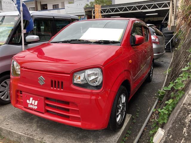 沖縄の中古車 スズキ アルト 車両価格 55万円 リ済込 2016(平成28)年 3.6万km レッド