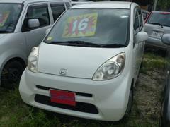 沖縄の中古車 ホンダ ライフ 車両価格 16万円 リ済込 平成18年 12.5万K パールホワイト