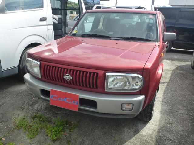 沖縄の中古車 日産 ラシーン 車両価格 29万円 リ済込 平成12年 12.5万km レッド
