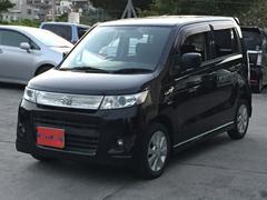 沖縄の中古車 スズキ ワゴンRスティングレー 車両価格 39万円 リ済込 平成22年 11.5万K ブラック