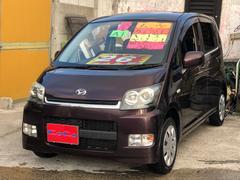 沖縄の中古車 ダイハツ ムーヴ 車両価格 21万円 リ済込 平成18年 11.4万K パープル