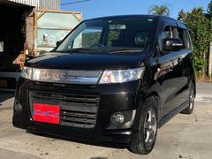 沖縄の中古車 スズキ ワゴンRスティングレー 車両価格 35万円 リ済込 平成21年 12.2万K ブラックパール