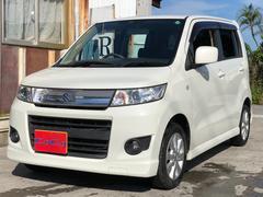 沖縄の中古車 スズキ ワゴンRスティングレー 車両価格 42万円 リ済込 平成21年 10.8万K パール