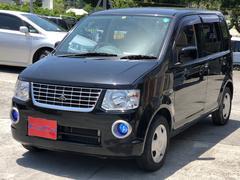 沖縄の中古車 三菱 eKワゴン 車両価格 21万円 リ済込 平成21年 9.8万K ブラック