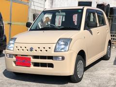 沖縄の中古車 スズキ アルト 車両価格 21万円 リ済込 平成21年 7.4万K ベージュ