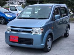 沖縄の中古車 三菱 eKワゴン 車両価格 21万円 リ済込 平成19年 4.7万K ブルーグレー
