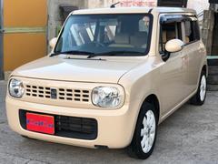 沖縄の中古車 スズキ アルトラパン 車両価格 34万円 リ済込 平成22年 12.8万K ベージュ