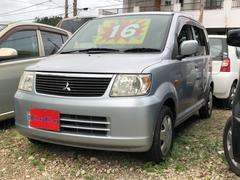 沖縄の中古車 三菱 eKワゴン 車両価格 16万円 リ済込 平成18年 8.3万K シルバー