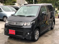 沖縄の中古車 スズキ ワゴンRスティングレー 車両価格 41万円 リ済込 平成23年 11.5万K ブラック