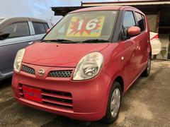 沖縄の中古車 日産 モコ 車両価格 16万円 リ済込 平成18年 11.9万K ピンク