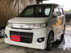 沖縄の中古車 スズキ ワゴンRスティングレー 車両価格 37万円 リ済込 平成20年 11.7万K パール