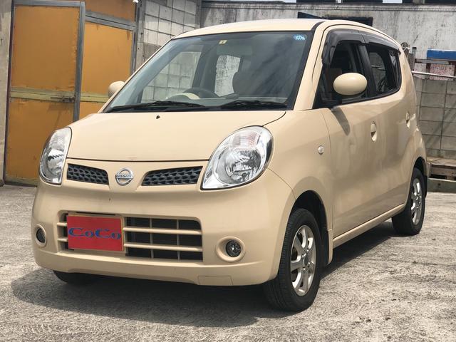 沖縄の中古車 日産 モコ 車両価格 29万円 リ済込 2009(平成21)年 7.6万km ベージュ
