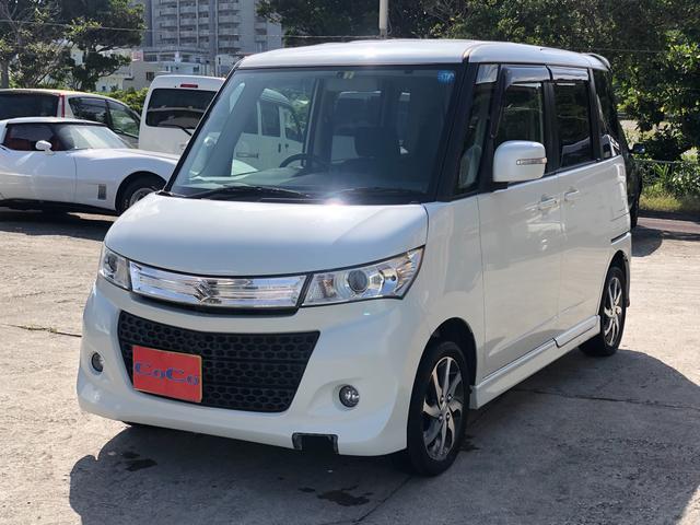 沖縄の中古車 スズキ パレットSW 車両価格 49万円 リ済込 2011(平成23)年 10.8万km パール