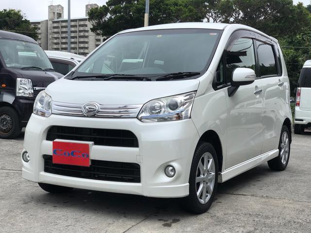 沖縄の中古車 ダイハツ ムーヴ 車両価格 52万円 リ済込 2012(平成24)年 10.6万km パール