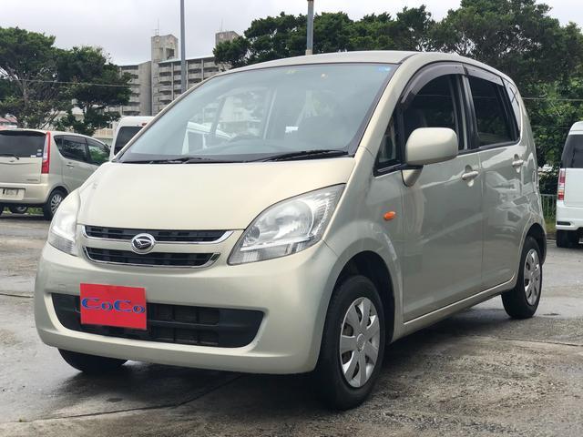 沖縄の中古車 ダイハツ ムーヴ 車両価格 20万円 リ済込 2008(平成20)年 9.0万km ゴールド