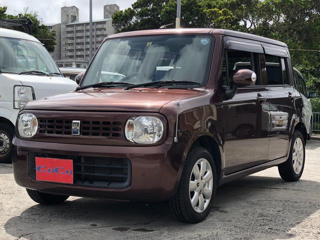 沖縄の中古車 スズキ アルトラパン 車両価格 33万円 リ済込 2010(平成22)年 9.5万km ブラウン