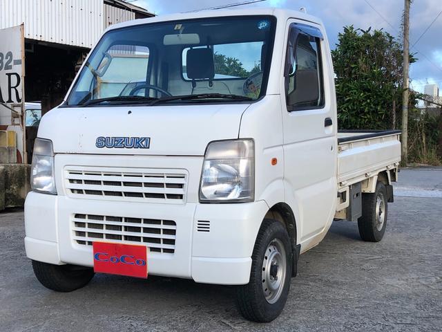 沖縄の中古車 スズキ キャリイトラック 車両価格 39万円 リ済込 2009(平成21)年 5.9万km ホワイト