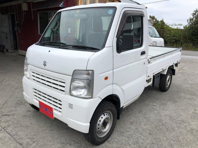 沖縄の中古車 スズキ キャリイトラック 車両価格 63万円 リ済込 2013(平成25)年 8.2万km ホワイト
