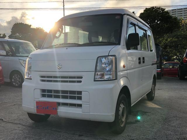 沖縄の中古車 スズキ エブリイ 車両価格 29万円 リ済込 2013(平成25)年 13.6万km ホワイト