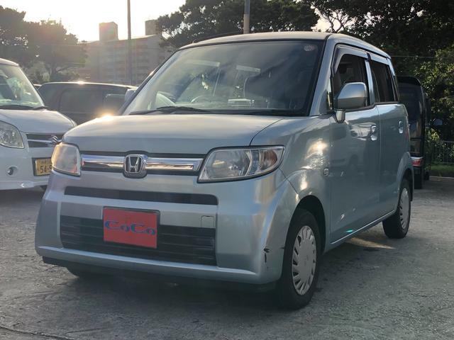 沖縄の中古車 ホンダ ゼスト 車両価格 22万円 リ済込 2008(平成20)年 7.4万km ライトブルー