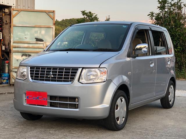 沖縄の中古車 三菱 eKワゴン 車両価格 23万円 リ済込 2010(平成22)年 7.2万km シルバー
