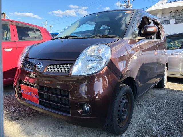 沖縄の中古車 日産 モコ 車両価格 23万円 リ済込 2010(平成22)年 10.0万km ブラウン