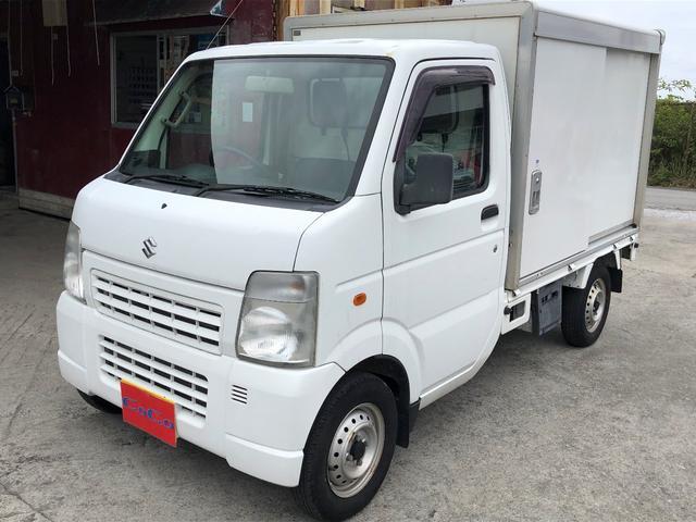 沖縄県の中古車ならキャリイトラック KC エアコン・パワステ 保冷庫
