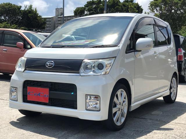 沖縄の中古車 ダイハツ ムーヴ 車両価格 39万円 リ済込 2009(平成21)年 8.9万km パール