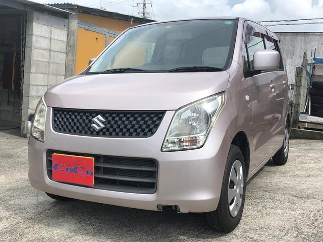 沖縄の中古車 スズキ ワゴンR 車両価格 33万円 リ済込 2010(平成22)年 5.7万km ピンク