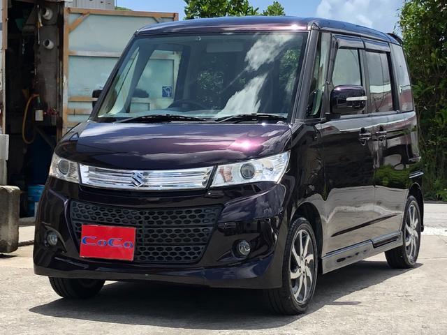 沖縄の中古車 スズキ パレットSW 車両価格 53万円 リ済込 2012(平成24)年 7.3万km ダークパープル