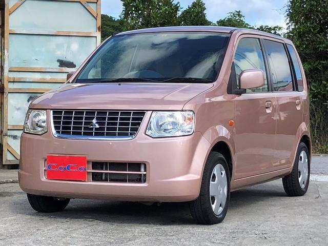 沖縄の中古車 三菱 eKワゴン 車両価格 27万円 リ済込 2012(平成24)年 3.1万km ピンク