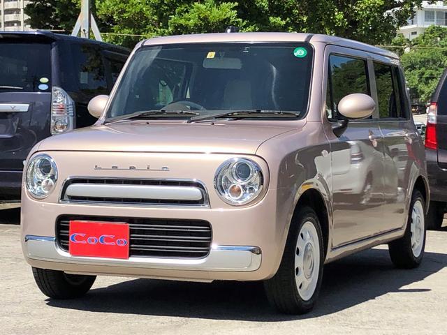 沖縄県の中古車ならアルトラパンショコラ G 本土仕入れ車 全席純正レザーシート 走行6.7万km