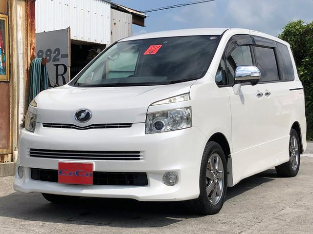 沖縄の中古車 トヨタ ヴォクシー 車両価格 49万円 リ済込 2010(平成22)年 13.1万km パールホワイト